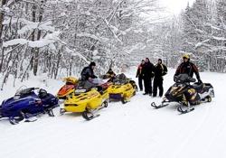 Mackinac Island Snowmobile Rental